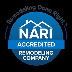 NARI Accredited Remodeling Company logo