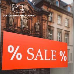 25% off PGT windows and doors
